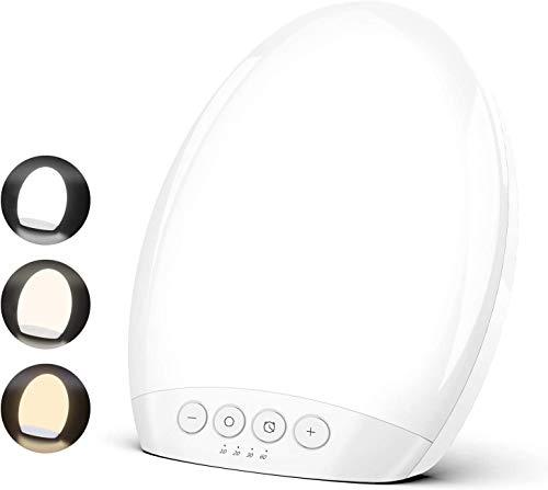 Lámpara Solar TECBOSS 10000 Lux LED con Brillo Regulable, 4 ...