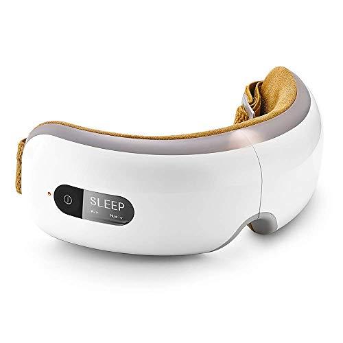Masajeador de ojos Breo, Mascarilla de masaje para relajar los ojos ...