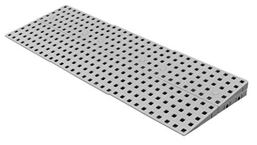 Rampa exterior modular ajustable