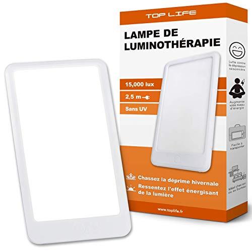 Lámpara de fototerapia 15000 lux - Potente Anti-...