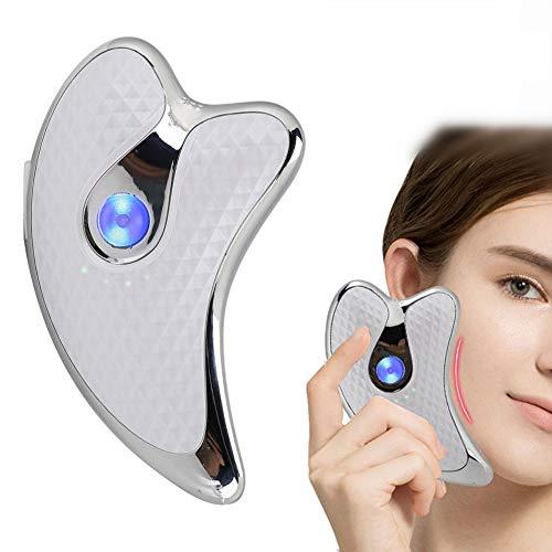 Masajeador facial de microcorriente Raspador facial de microcorriente ...