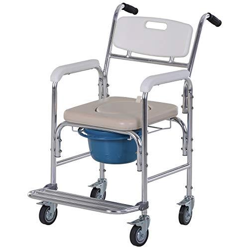 Silla perforada con ruedas - silla de ruedas perforada - silla ...