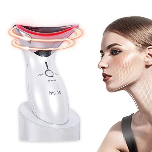 Ms.W Máquina de aparato de belleza de cara fría y caliente ...