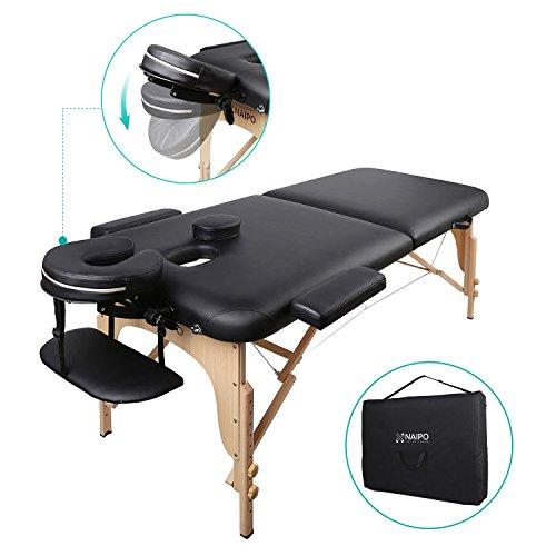 Mesa de masaje plegable cosmética profesional Naipo ...