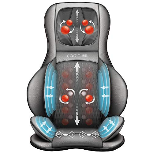 Asiento masajeador Shiatsu más cómodo con compresión de aire y ...