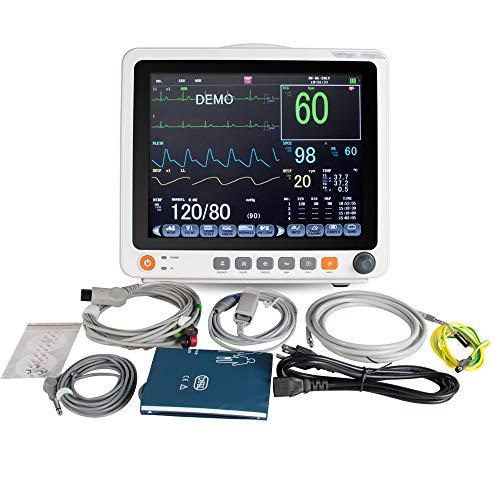 Electrocardiograma digital portátil ECG de 12,1 pulgadas