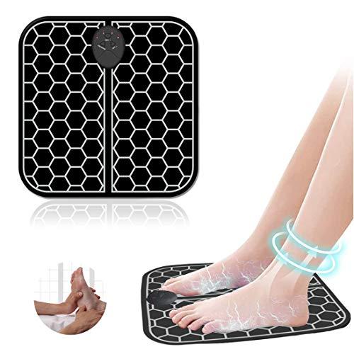 Masajeador de pies eléctrico EMS, masaje de pies para aliviar ...