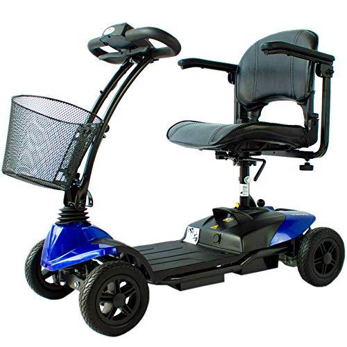 Scooter eléctrico para personas mayores | 4 ruedas | Compacto y ...