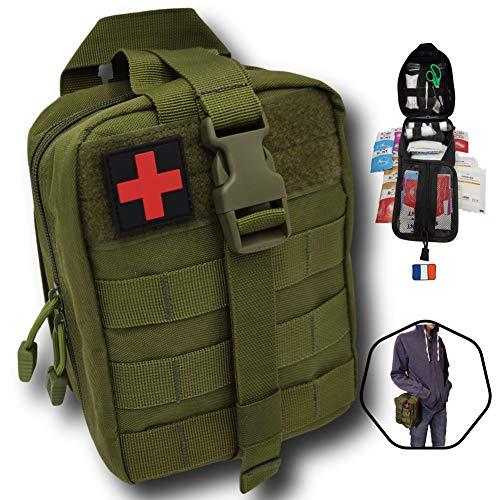 Kit de primeros auxilios táctico Molle Kit completo 103 ...