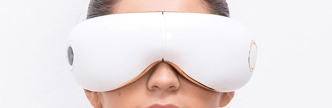 mascarilla de masaje ocular