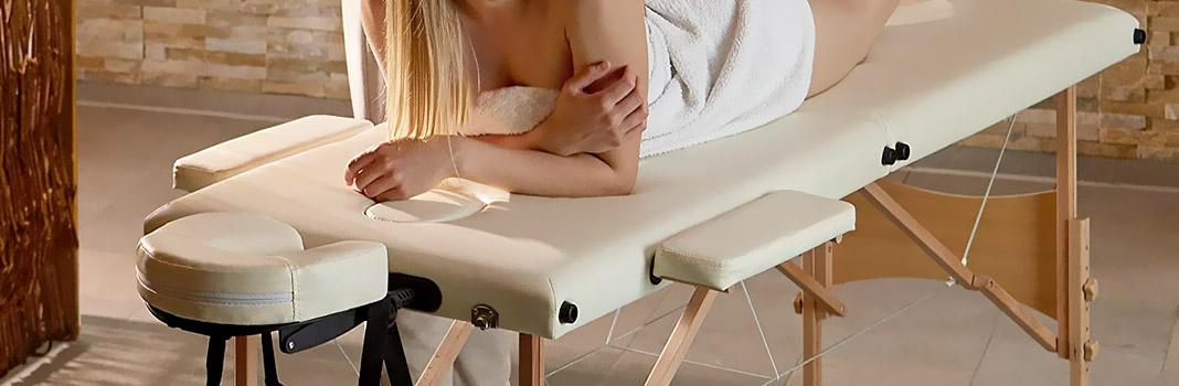 mesa de masaje plegable